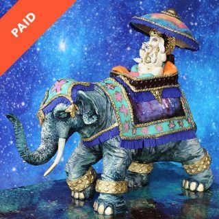 Indian Elephant Showpiece Cake Tutorial