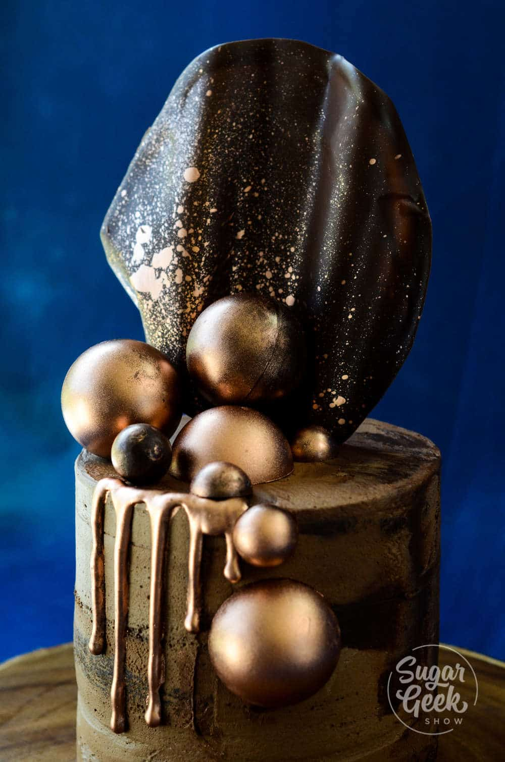 How to make a chocolate sail decoration