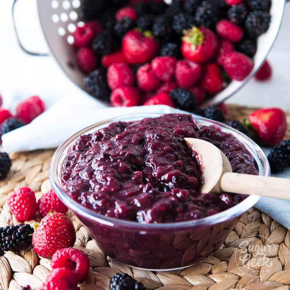 berry cake filling