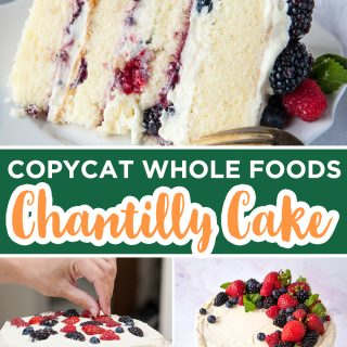 berry chantilly cake pinterest image