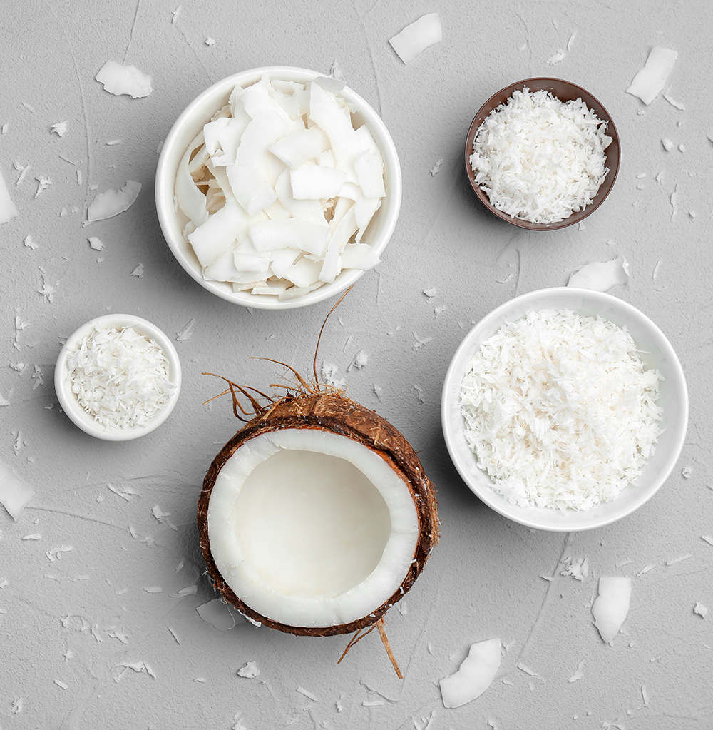 how to sweeten raw coconut flakes