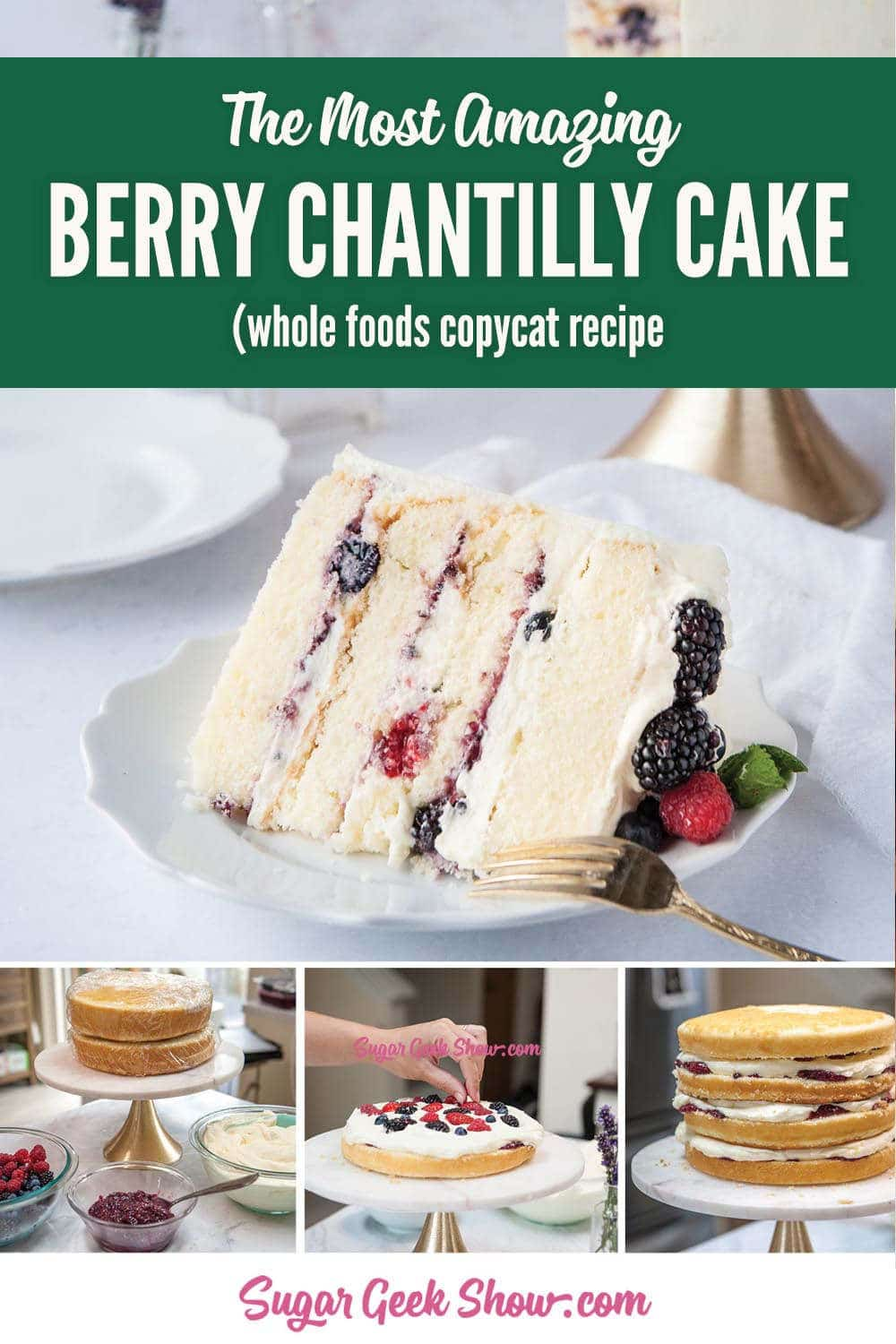 whole foods berry Chantilly cake recipe