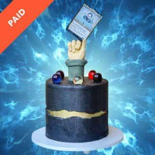 Magic: The Gathering Cake Tutorial