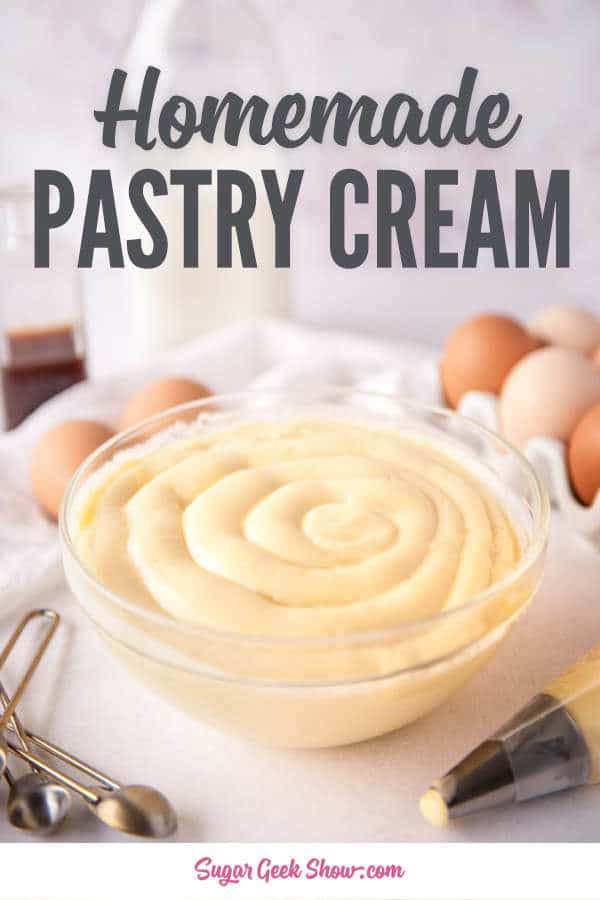 homemade pastry cream recipe
