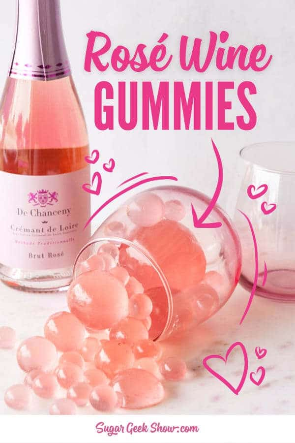 rose wine gummy recipe