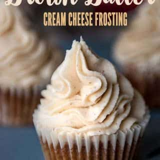 Brown butter cream cheese frosting tastes amazing with brown butter which adds a toasty, nutty flavor to the frosting