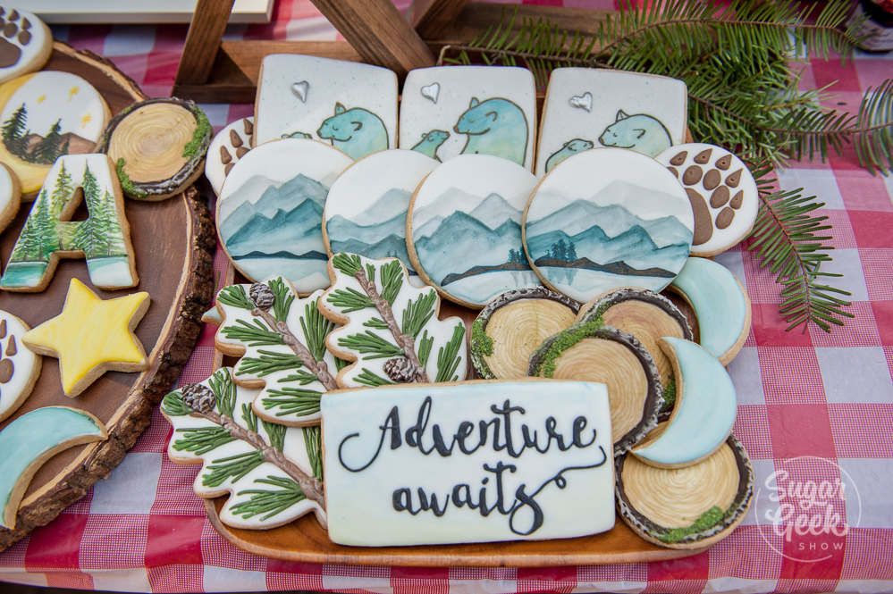 adventure awaits cookies