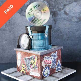 1990s Cake Tutorial