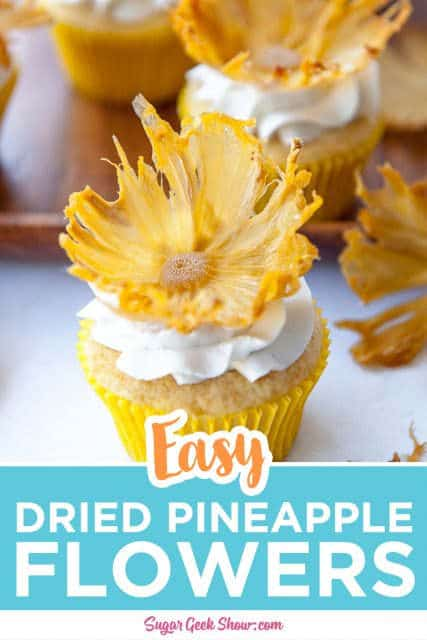 dried pineapple flower pinterest image