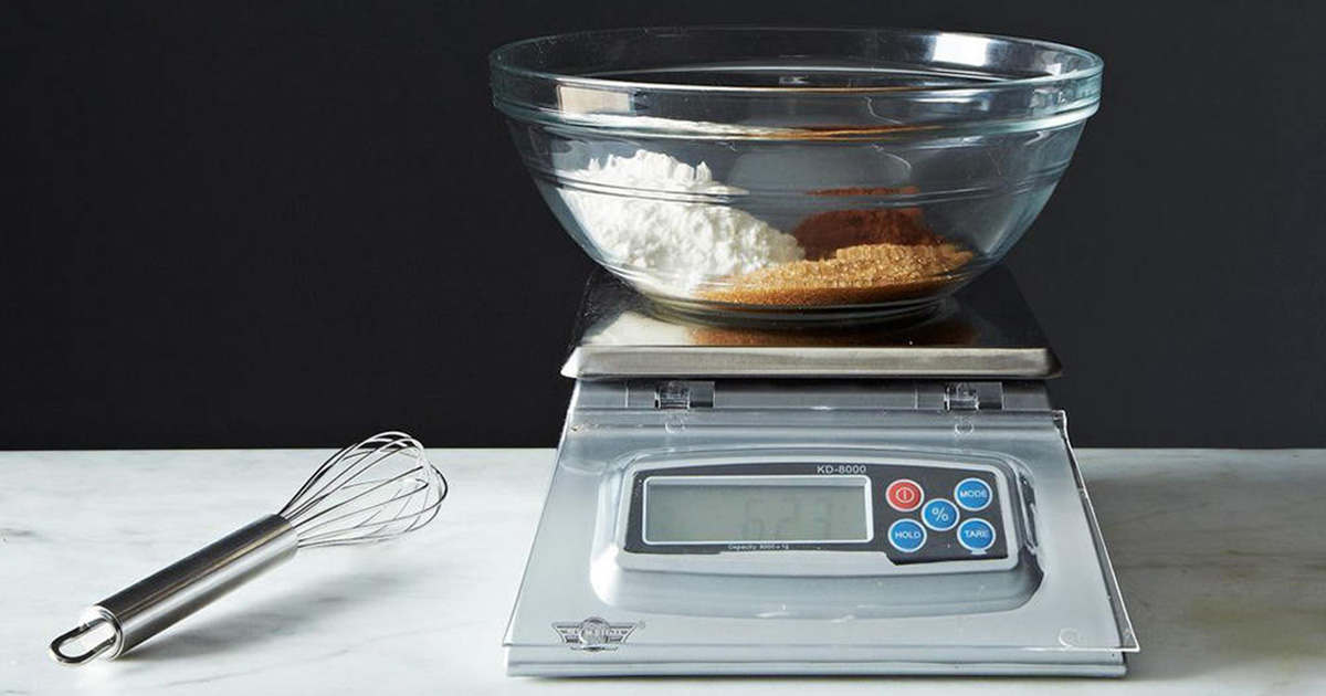 how to use a digital kitchen scale
