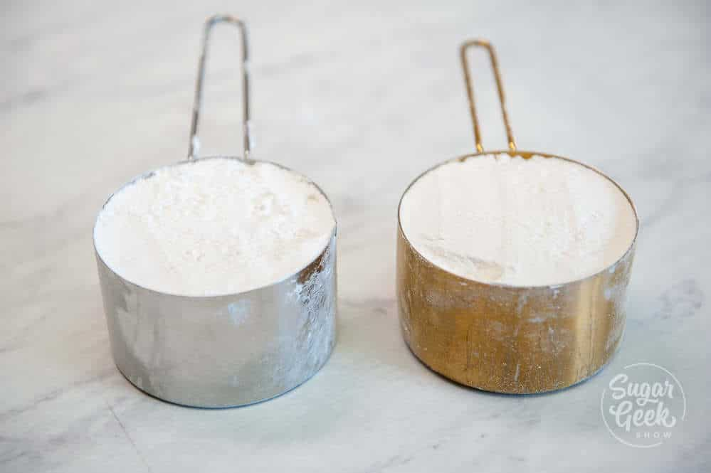 Two cups of flour don't always weigh the same