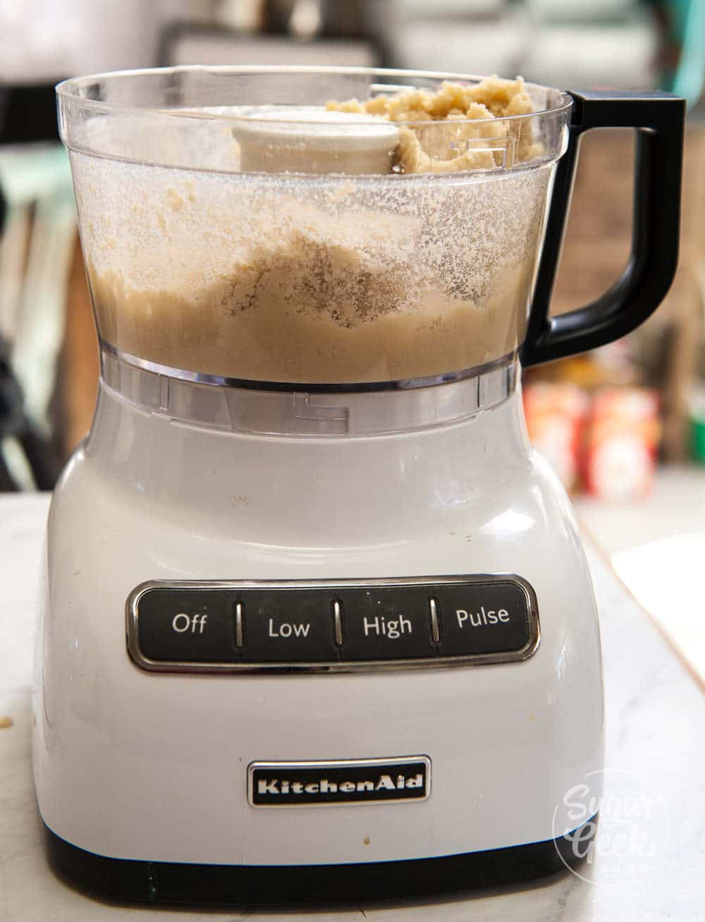 making almond paste in a 6 cup food processor