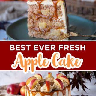 apple cake pinterest image