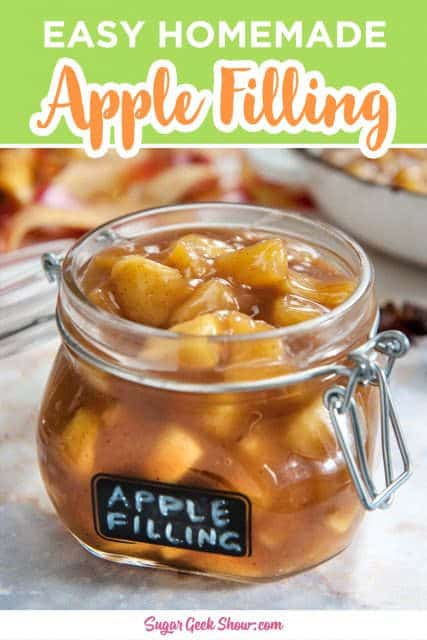pinterest image for apple filling