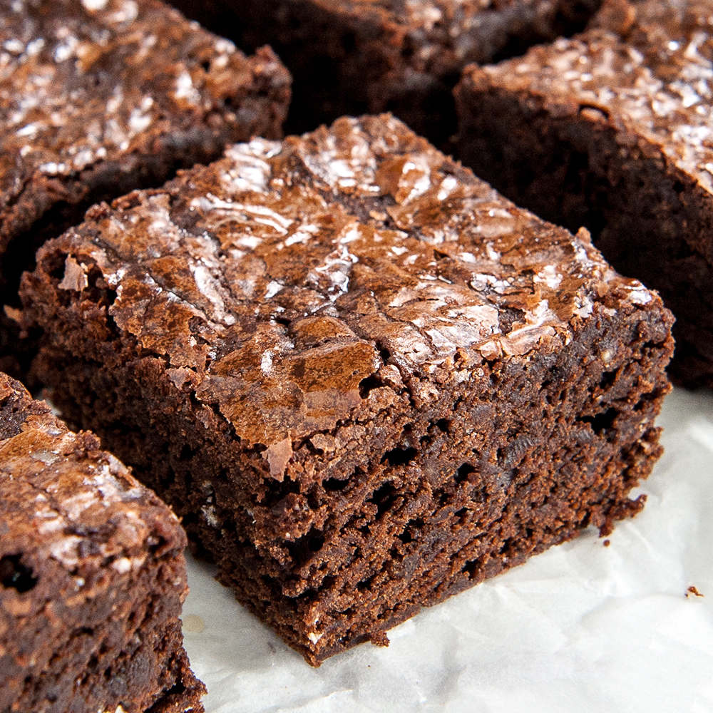 Easy Fudgy Homemade Brownies From Scratch