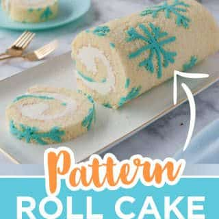 pattern roll cake pin