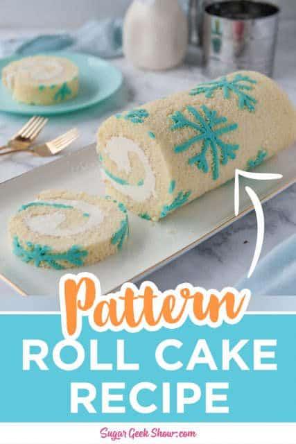 pattern roll cake pin