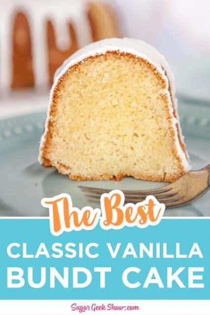 vanilla bundt cake pin