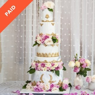 Wedding Cake Spacers Tutorial