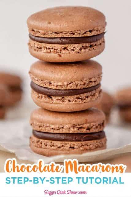 chocolate macaron recipe