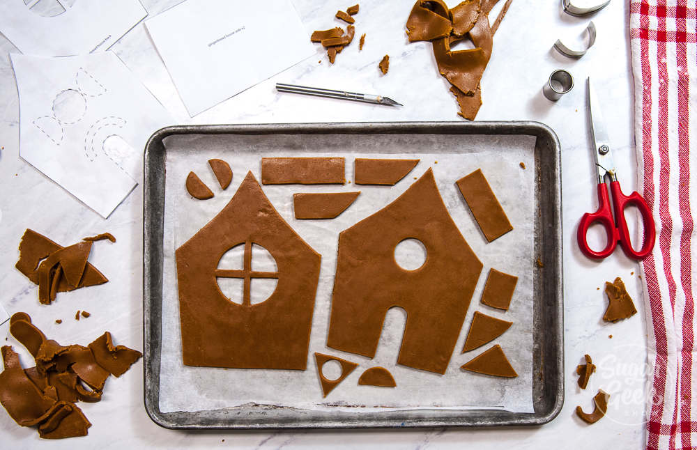 gingerbread house cutouts