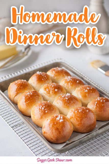 homemade dinner rolls pin