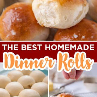 homemade dinner rolls recipe