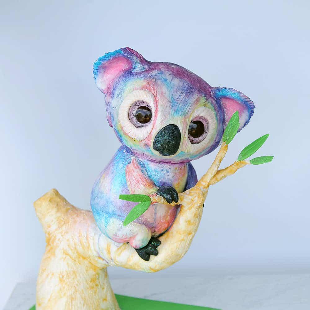 koala cake tutorial