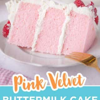 pink velvet cake pin