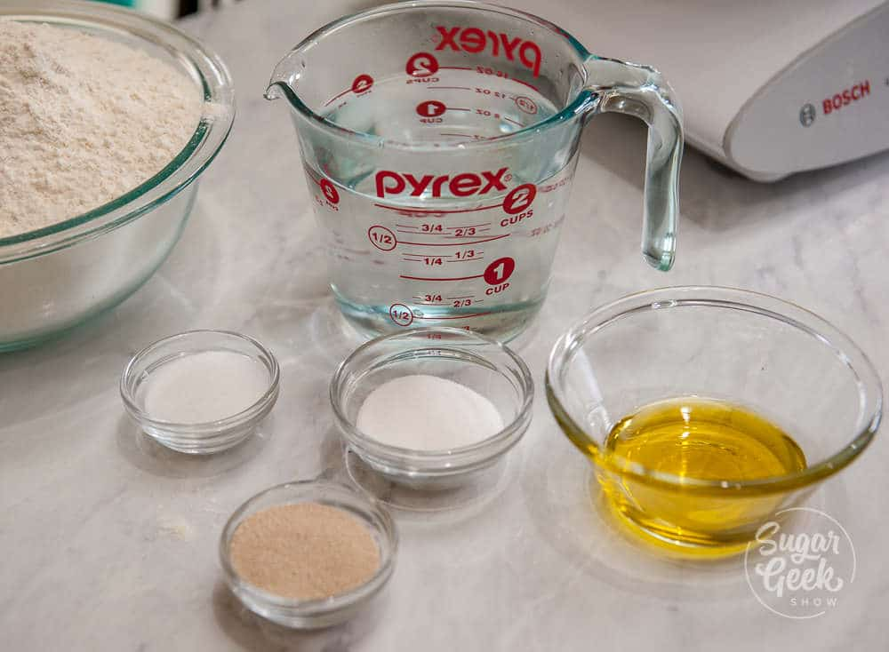 easy bagel recipe ingredients