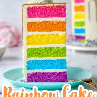 rainbow cake pin
