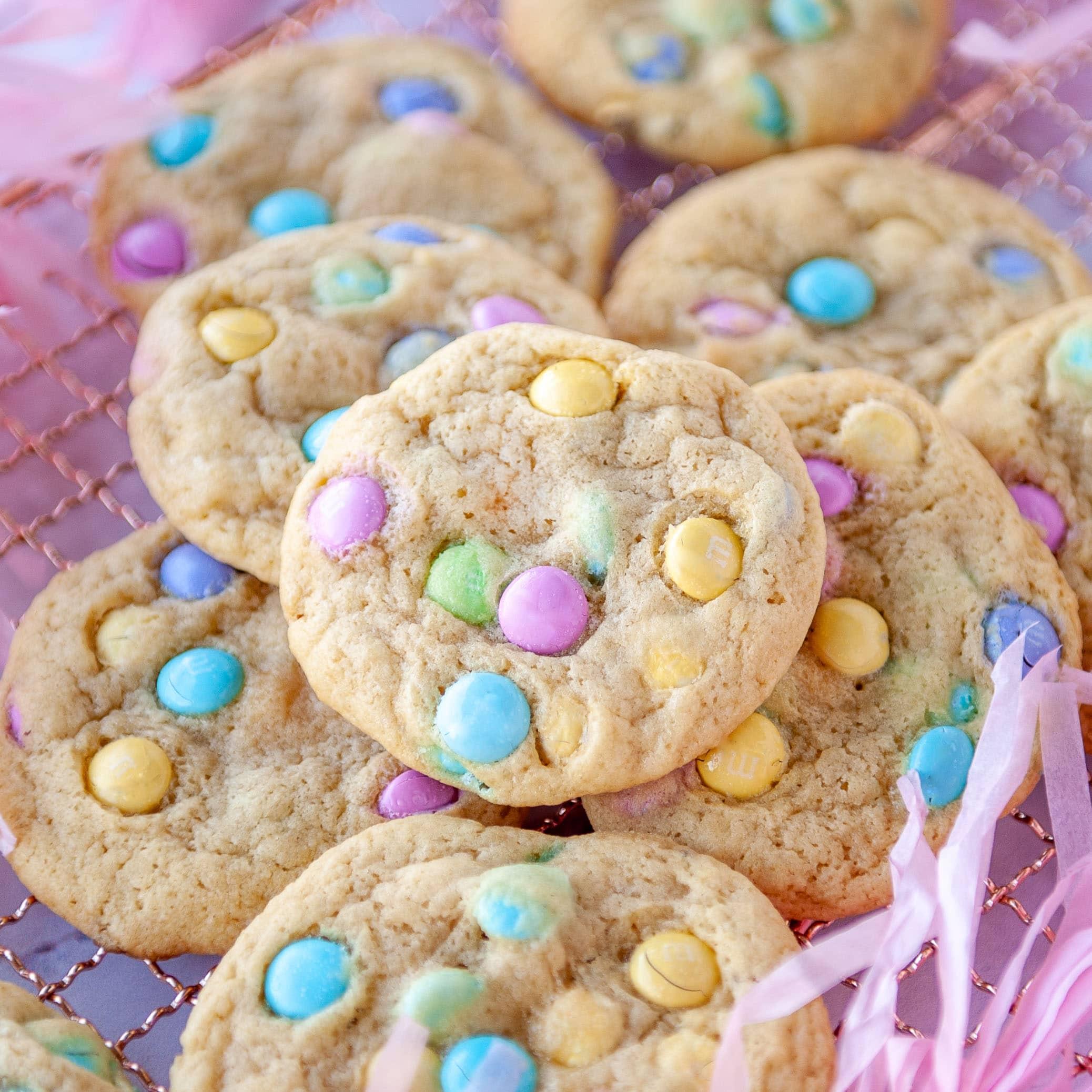 Easy M M Cookies Recipe Soft Chewy Sugar Geek Show