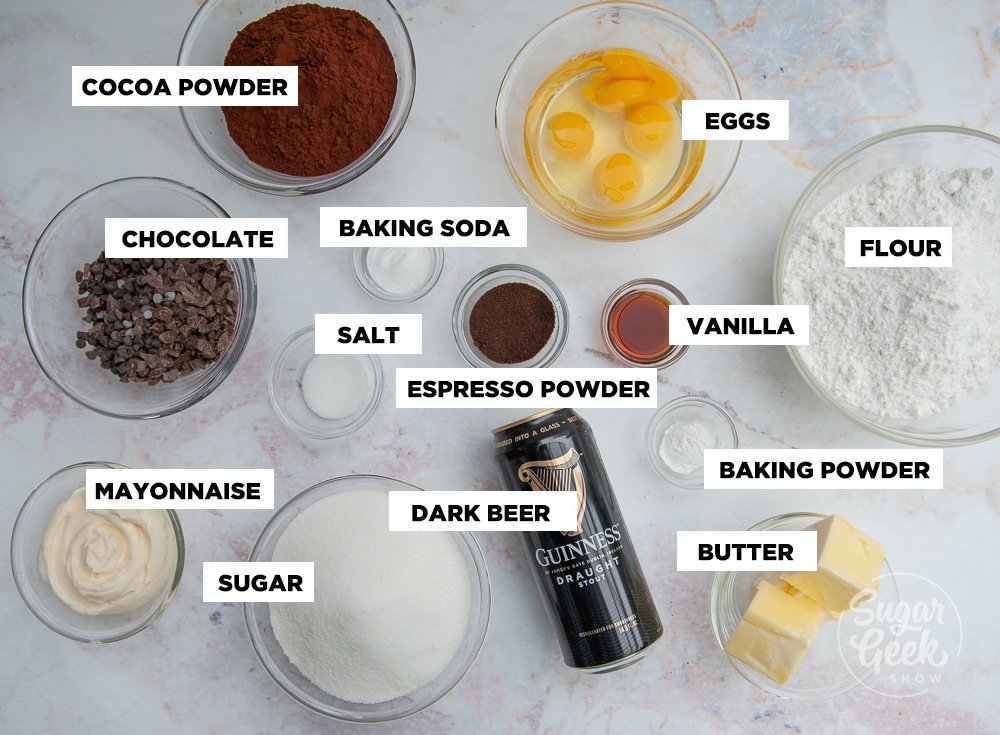death by chocolate cake ingredients