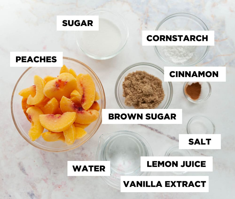 peach filling ingredients