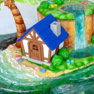 3D printed animal crossing house