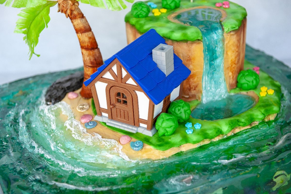 3D printed animal crossing house
