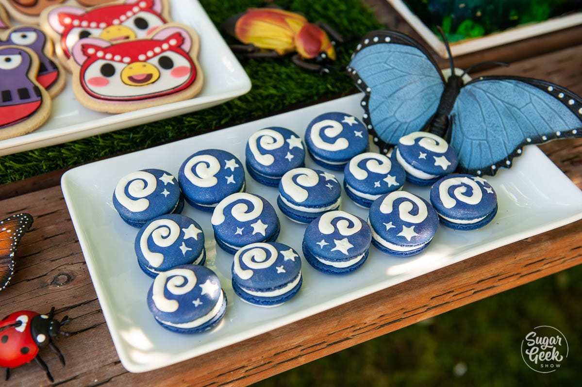 animal crossing fossil macarons