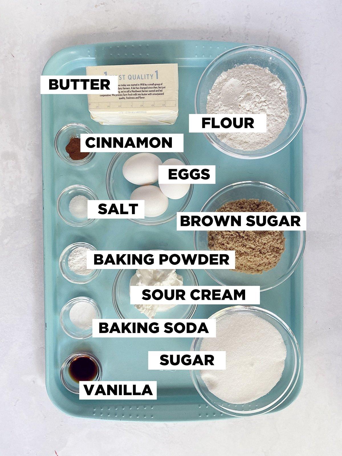 coffee crumb cake ingredients