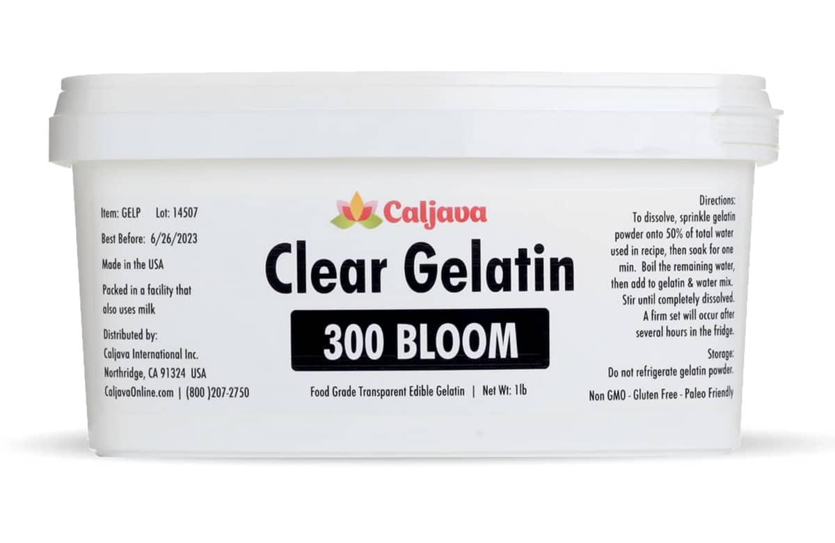 super clear gelatin
