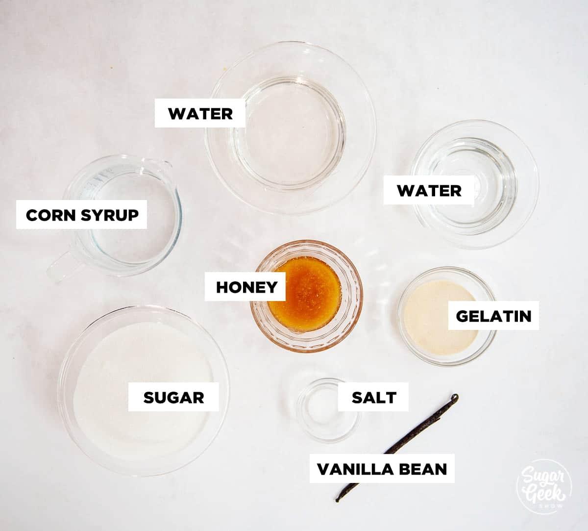 homemade marshmallow ingredients
