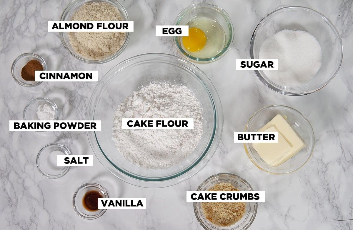 linzer cookie ingredients