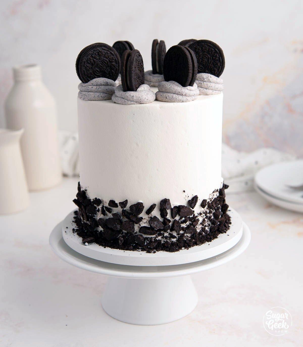 Finished Oreo cake