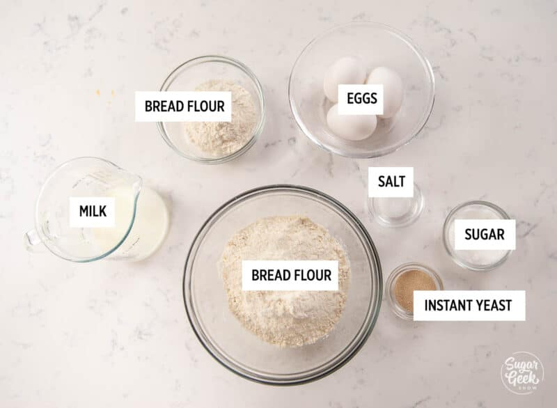 brioche bread ingredients
