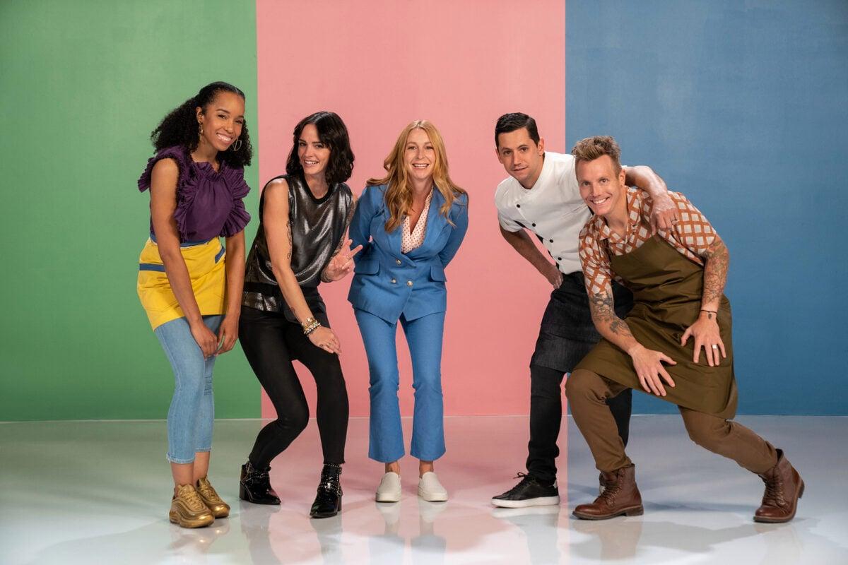Christophe stars in the new Netflix show Bake Squad, featuring Christina Tosi, Ashley Holt, Gonzo Jimenez and  Maya-Camille Broussard