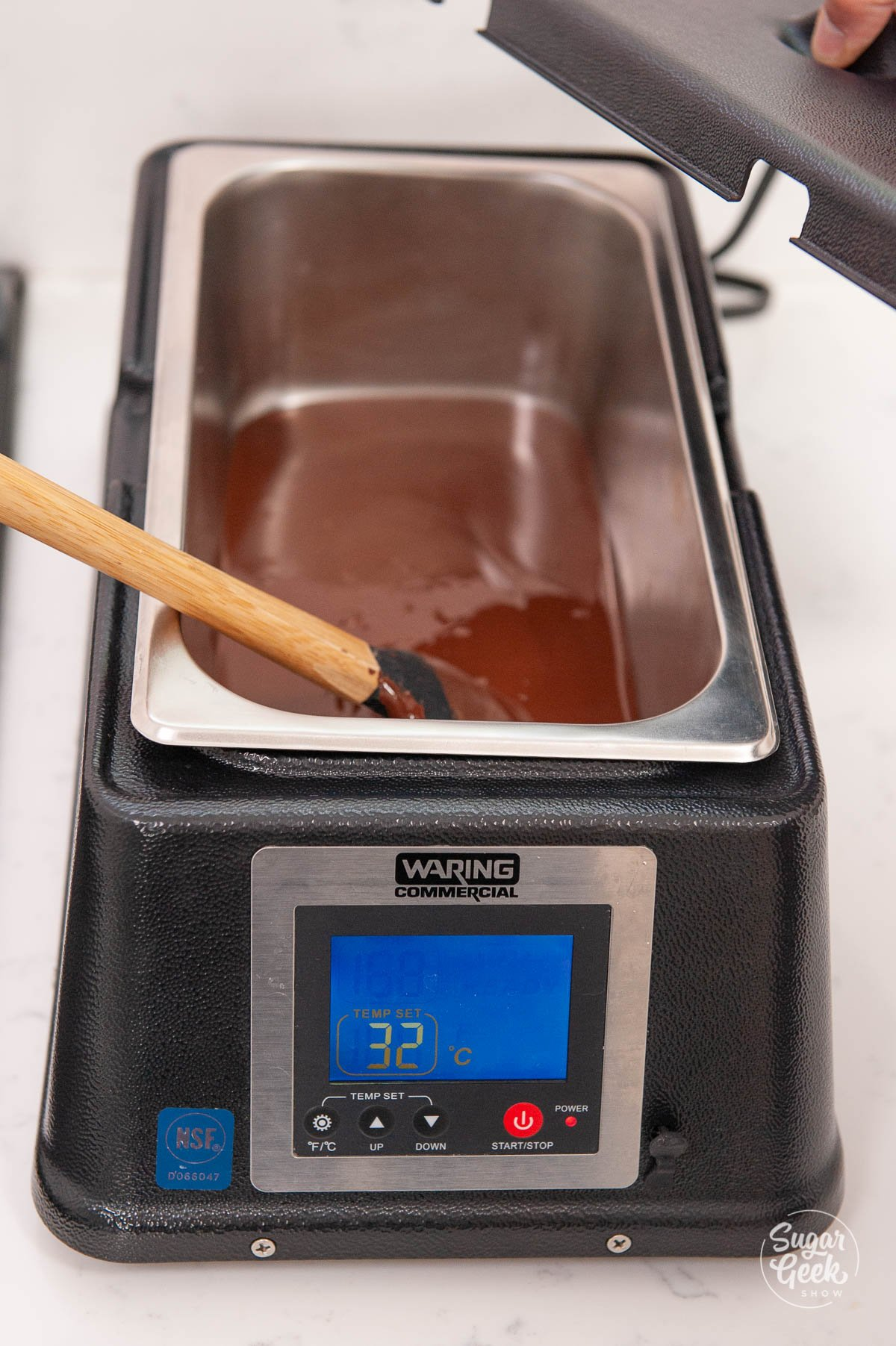 waring chocolate warmer