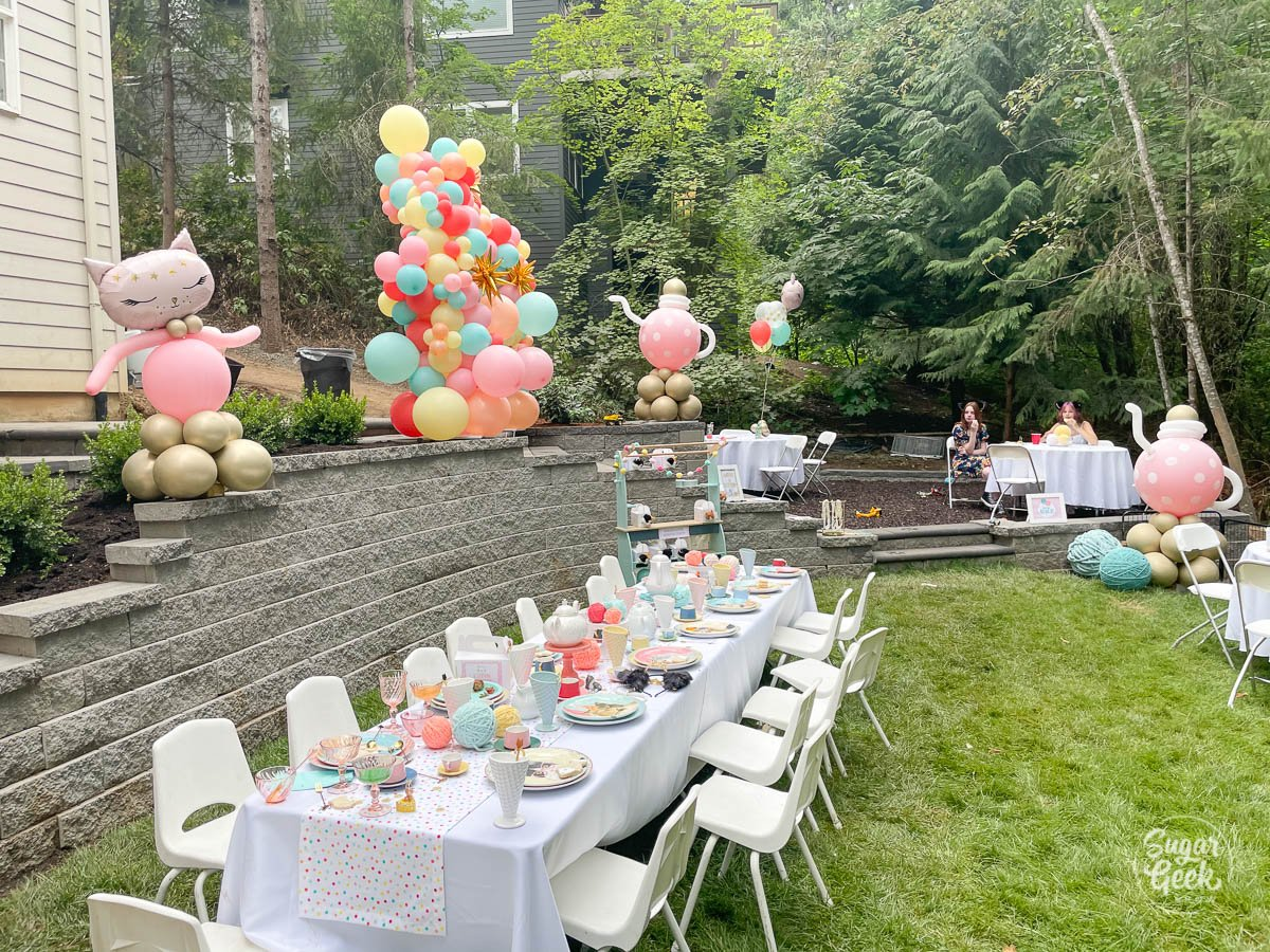 kittea party decorations